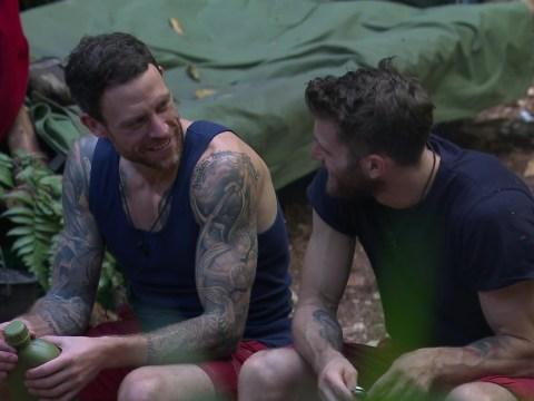 I'm A Celebrity's Joel Dommett gives viewers the giggles with cheeky Carol Vorderman joke