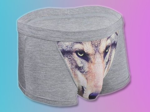 These 'sexy' wolf boxers will ensure your next Tinder date is a success