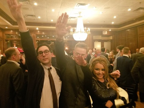 Tila Tequila suspended from Twitter after shocking Nazi salute photo