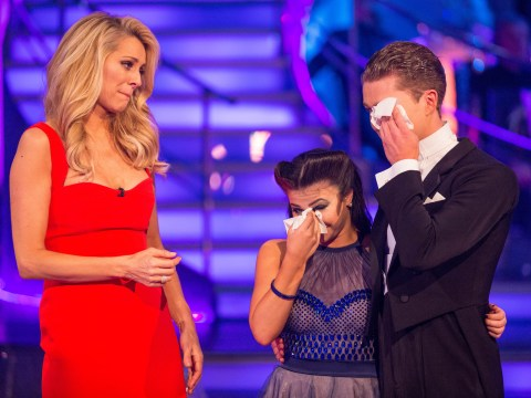 Claudia Fragapane makes a weepy Strictly Come Dancing exit after voting glitch