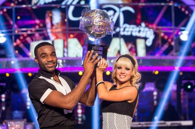 Ore is the 2016 Glitterball champion! (Picture: BBC)