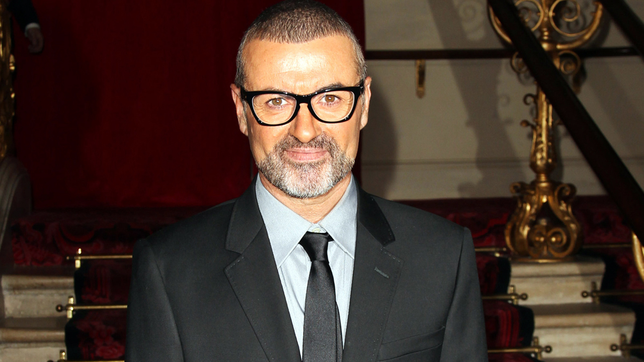 LONDON, ENGLAND - MAY 11: (UK TABLOID NEWSPAPERS OUT) George Michael attends a press conference to announce details of a new tour, at The Royal Opera House on May 11, 2011 in London, England. (Photo by Dave Hogan/Getty Images) *** Local Caption *** George Michael;