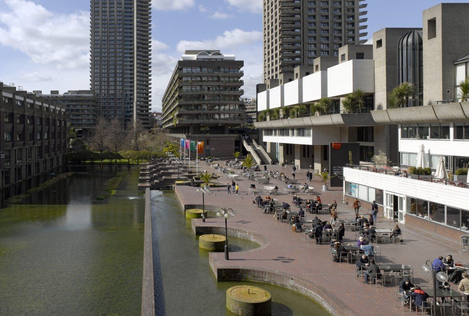 Barbican Estate, Architects: Chamberlin, Powell and Bon. (Photo by Arcaid/UIG via Getty Images)