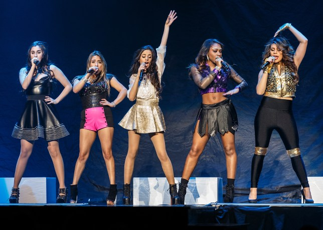 VANCOUVER, BC - FEBRUARY 09: Fifth Harmony opens for Demi Lovato 'The Neon Lights Tour' at Rogers Arena on February 9, 2014 in Vancouver, Canada. (Photo by Andrew Chin/Getty Images)