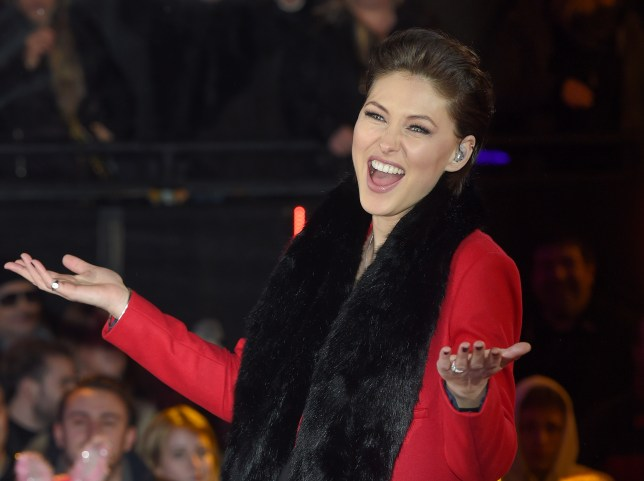 BOREHAMWOOD, ENGLAND - JANUARY 08: Emma Willis presents from the Big Brother house at Elstree Studios on January 8, 2016 in Borehamwood, England. (Photo by Karwai Tang/WireImage)