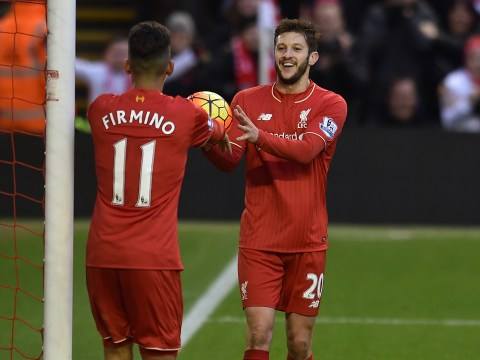 Adam Lallana reveals Roberto Firmino is helping Liverpool cope with Philippe Coutinho injury