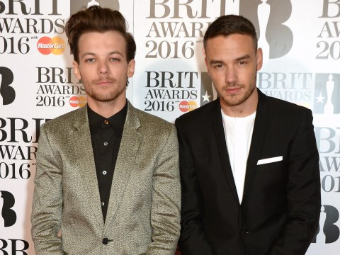 Liam Payne supports One Direction band mate Louis Tomlinson at mum Johannah Deakin's funeral