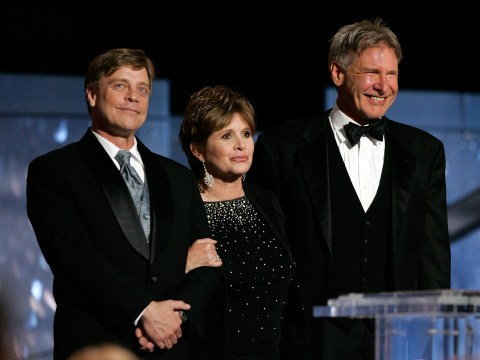 Harrison Ford pays tribute to 'one-of-a-kind' Star Wars co-star Carrie Fisher who has died aged 60
