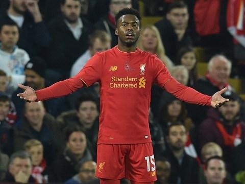Jurgen Klopp confirms Daniel Sturridge will miss Liverpool's clash with Bournemouth due to 'minor' injury