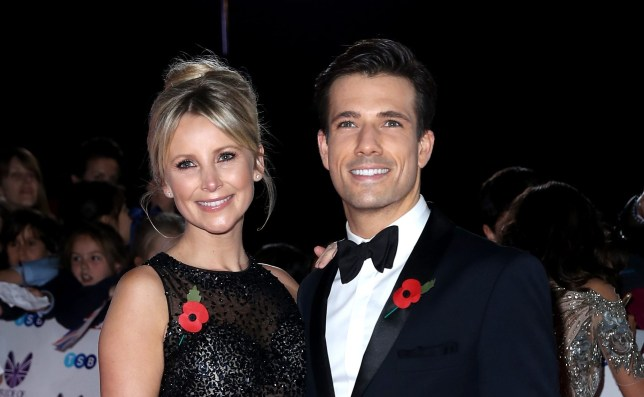 Carley Stenson and Danny Mac Picture: WireImage)