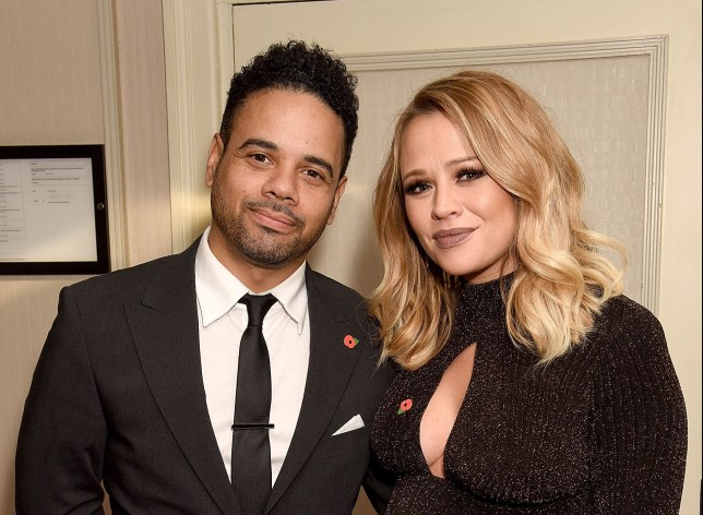 LONDON, ENGLAND - OCTOBER 31: Kimberley Walsh and Justin Scott attend the Daily Mirror Pride of Britain Awards in Partnership with TSB at The Grosvenor House Hotel on October 31, 2016 in London, England. The show will be broadcast on ITV on Tuesday November 1st at 8pm. (Photo by Dave J Hogan/Dave Hogan/Getty Images)