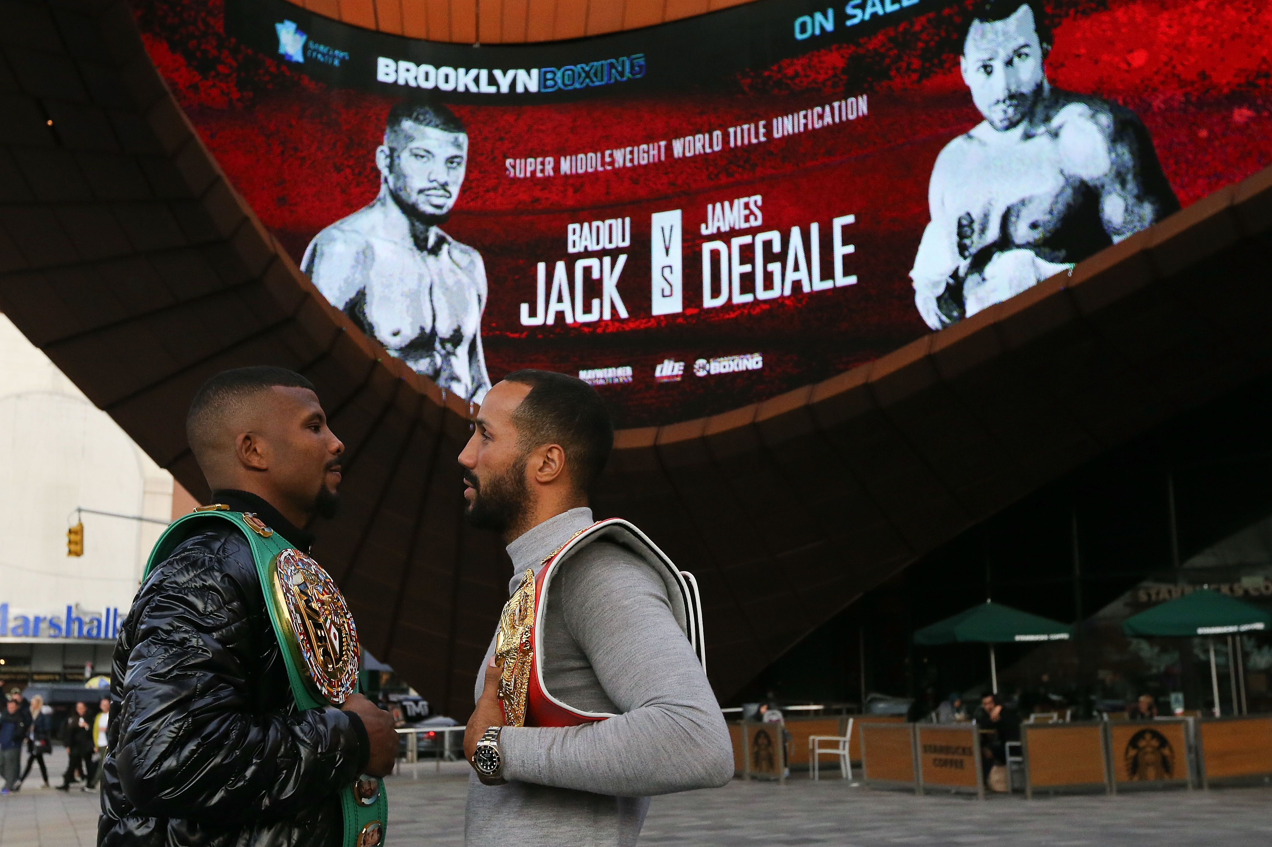 James DeGale vs Badou Jack date, fight time, undercard, TV channel and odds
