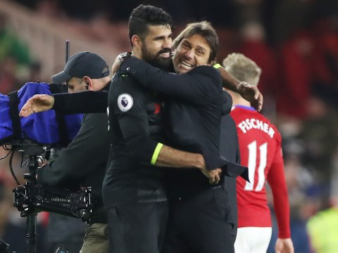 Antonio Conte delighted Chelsea striker Diego Costa has changed his attitude on the pitch
