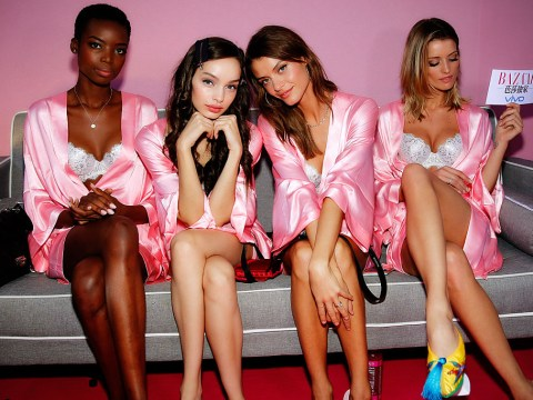 26 backstage photos you should see from the Victoria's Secret show