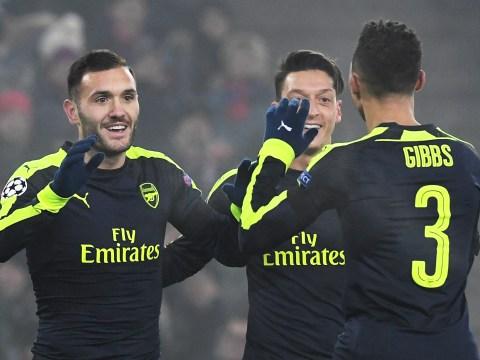 Arsenal fans believe Kieran Gibbs-Lucas Perez is the new Mesut Ozil-Alexis Sanchez