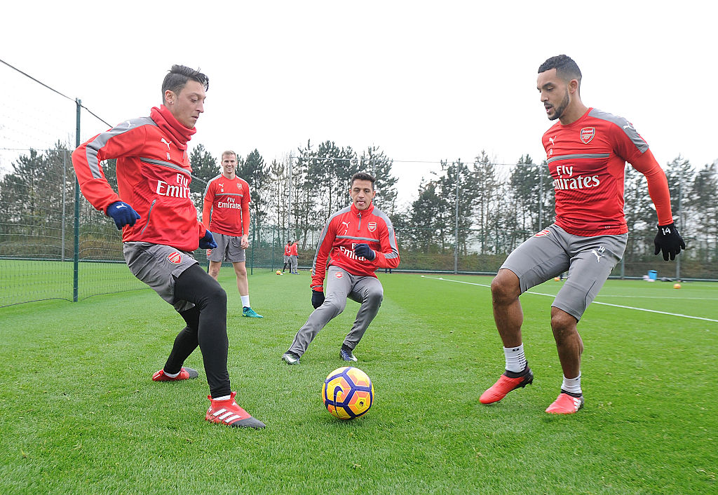 Arsenal star Theo Walcott reveals how Mesut Ozil and Alexis Sanchez inspire the Gunners
