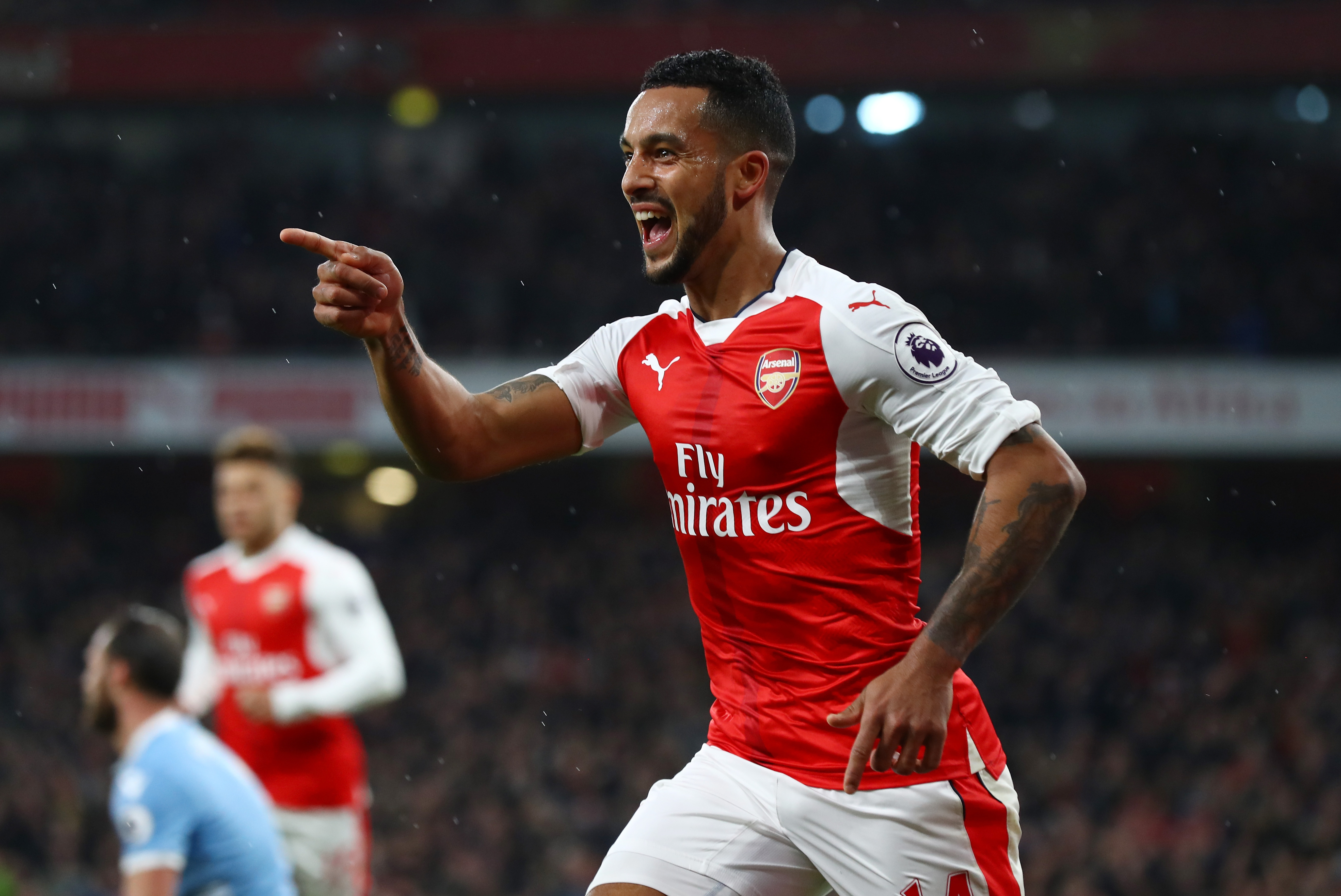 Theo Walcott says this is the best Arsenal team he's played in