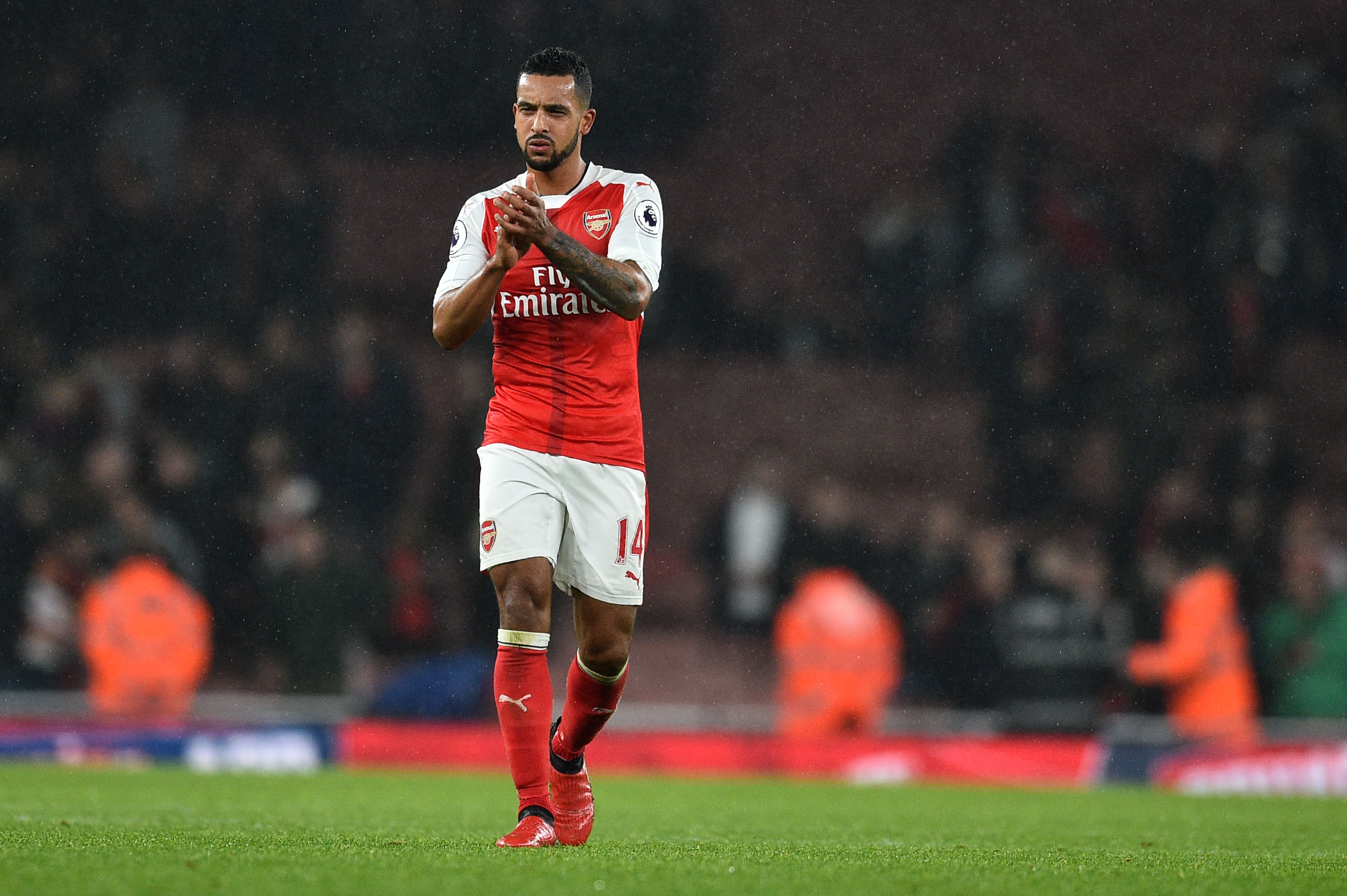 Theo Walcott ruled out of Arsenal v West Brom with a slight calf problem