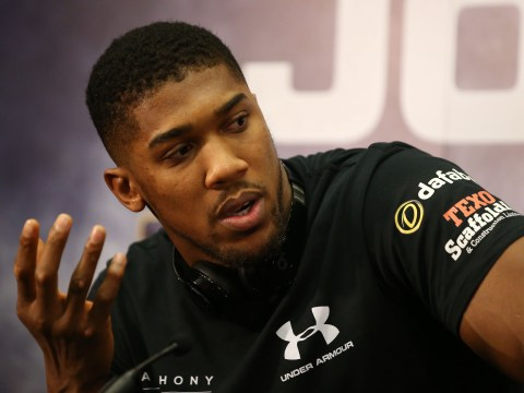 Anthony Joshua does not care for the way Wladimir Klitschko boxes