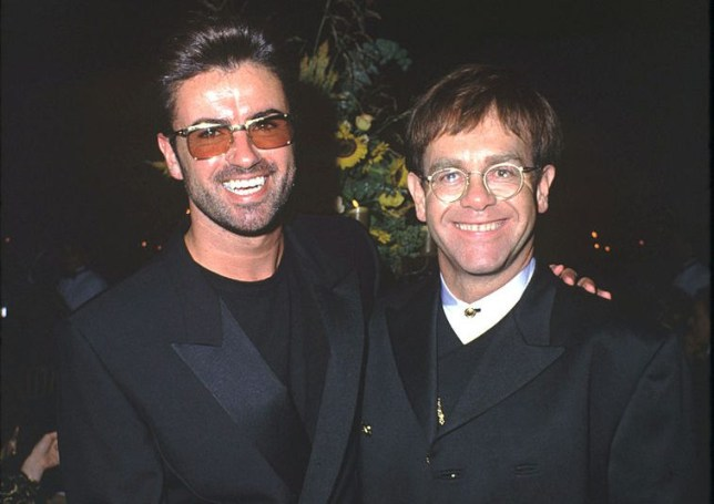 George Michael and Elton John (Picture: WireImage)