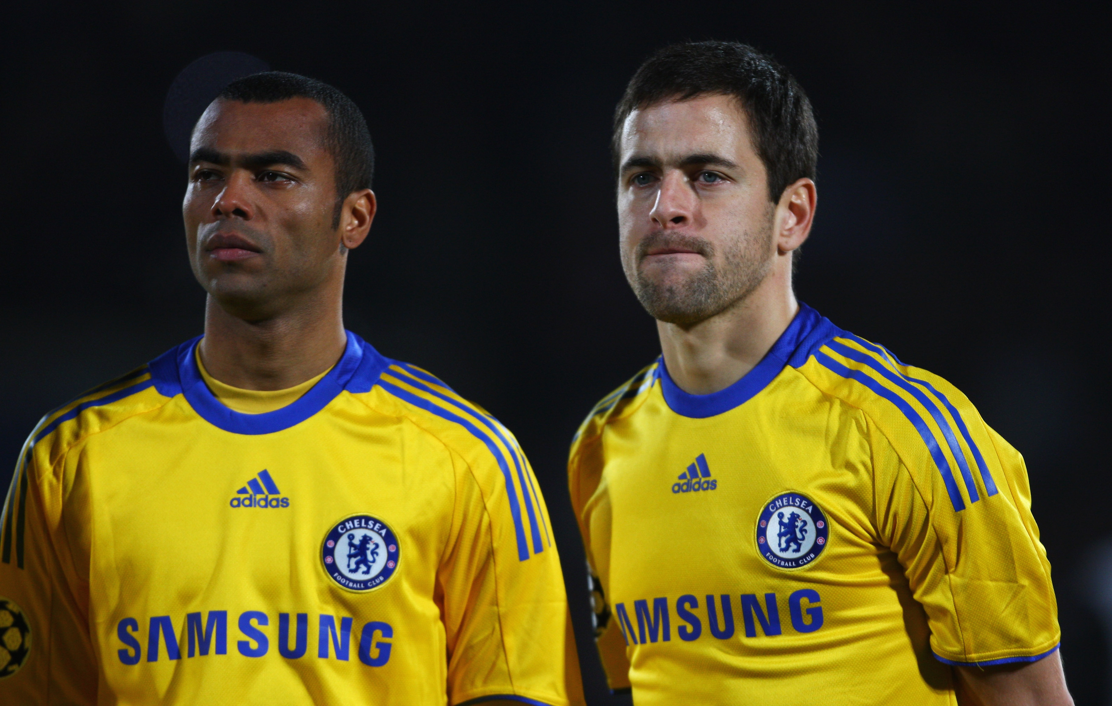 Chelsea legends Ashley Cole and Joe Cole back training with Blues
