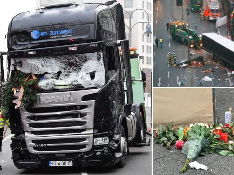 At least 12 dead after truck driven by 'refugee' crashes into Berlin Christmas market