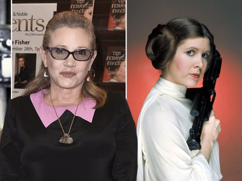 Carrie Fisher being treated in intensive care after life-threatening heart attack on plane