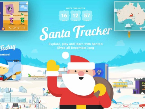 The Santa Tracker is back – and it's even better than last year!