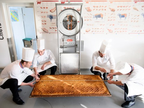 This is the world's biggest one-piece meat pie