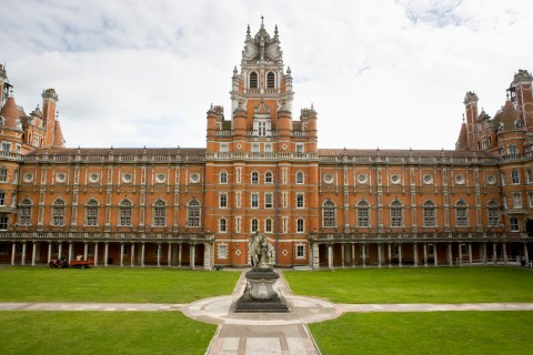 Royal Holloway fire: Man arrested over Royal Holloway