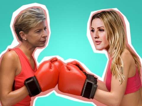 Ding ding! Katie Hopkins just accepted Ellie Goulding's offer of a charity boxing match