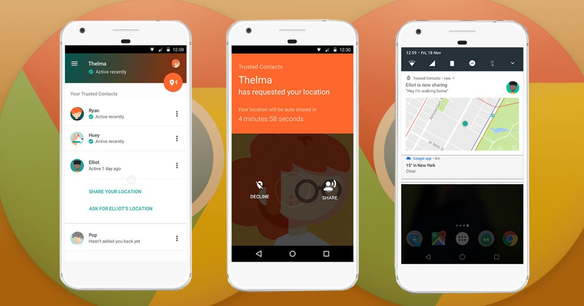 Google's new app will help loved ones find you in an emergency (Google)