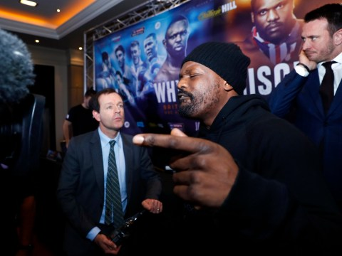 British Boxing Board of Control gives the go ahead for Dillian Whyte and Dereck Chisora but British title off the table