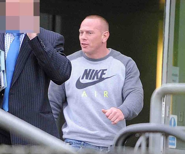 A thug who subjected a dog to such a violent beating that it urinated blood has dodged an immediate prison sentence.nA court heard claims that John McLellan, 37, subjected a Staffordshire bull terrier to a prolonged 30-minute beating.nIt was claimed the beating was so vicious, a neighbour could hear sickening ¿continuous thuds and yelping¿ through the wall.nNow McLellan, of Delarden Road, Pallister Park, Middlesbrough, has received a 12-week jail sentence, suspended for 18 months.nnWarning Court Snatch at Teesside Magistrates Courts of John McLellan from Middlesbrough in court for causing suffering/ cruelty to a dog.nID by Ian Johnson