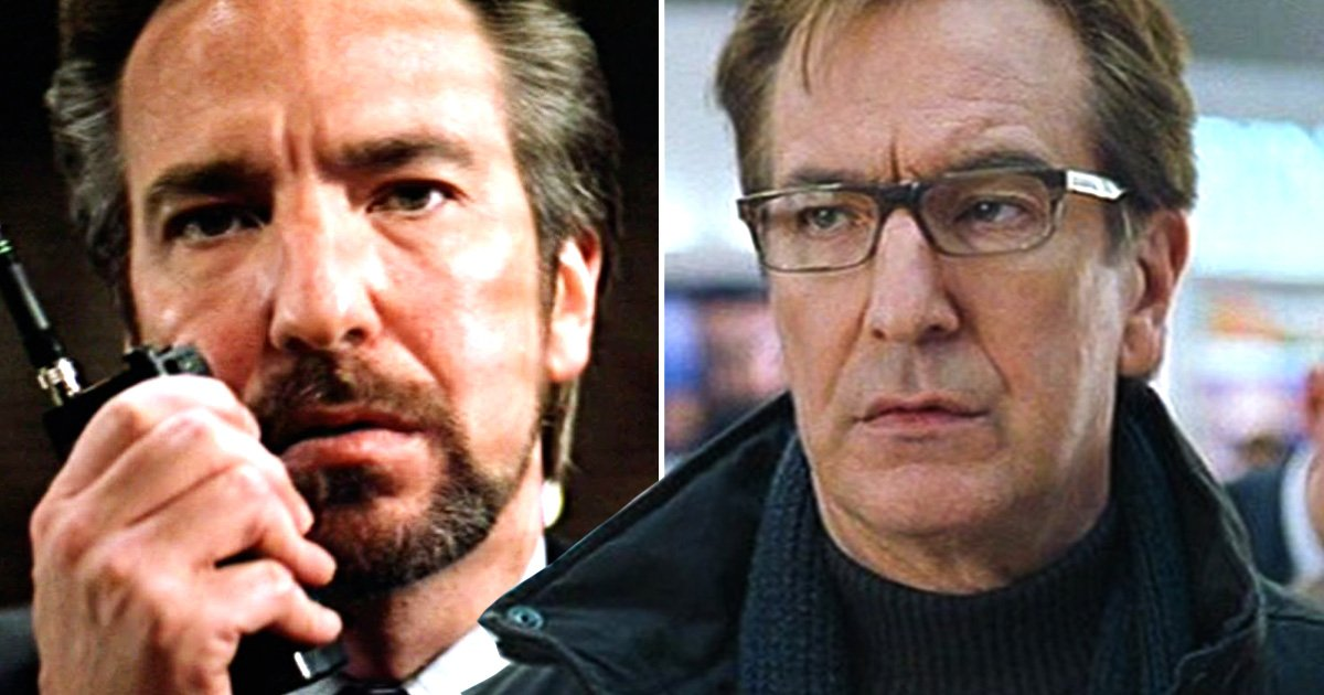 What if Alan Rickman's Christmas characters in Die Hard and Love Actually swapped places?