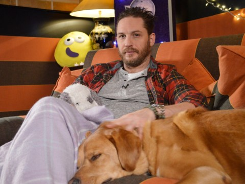 What time is Tom Hardy's CBeebies bedtime story on?