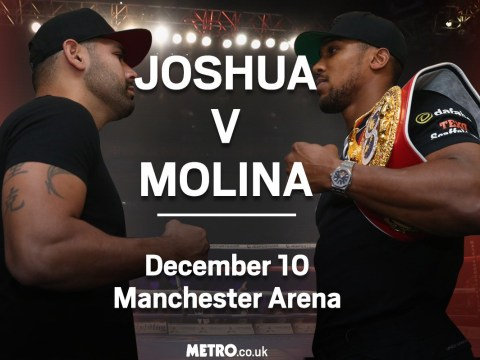 Anthony Joshua vs Eric Molina: Challenger in for a tough night as IBF champion aims to continue perfect knockout record