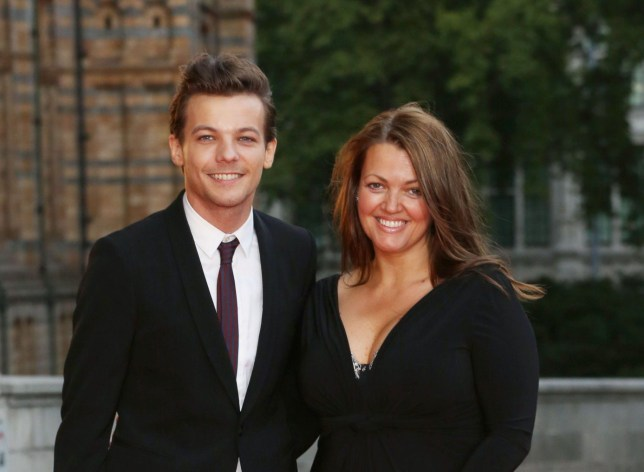 Believe In Magic Cinderella Ball held at the Natural History Museum - Arrivals Featuring: Louis Tomlinson, Mother Johannah Deakin Where: London, United Kingdom When: 10 Aug 2015 Credit: Lia Toby/WENN.com
