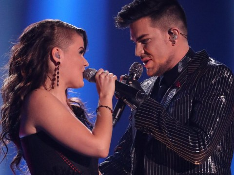 Adam Lambert says he may collaborate with 'lovely' Saara Aalto following their X Factor duet