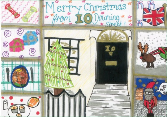 First Christmas Card.Theresa May S First Christmas Card As Prime Minister Is All