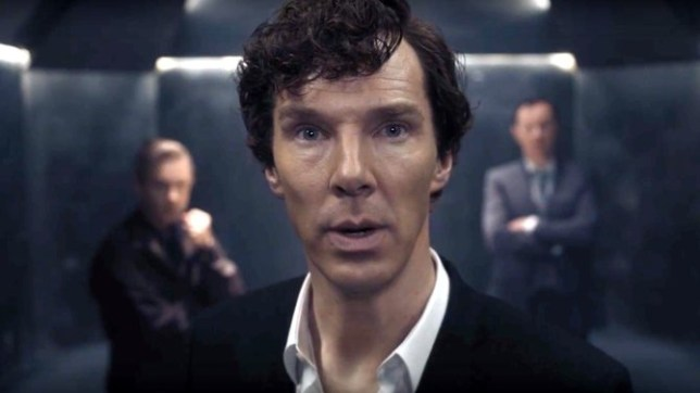 Benedict Cumberbatch's Sherlock is the world's most popular TV character (Picture: YouTube)