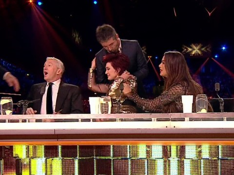 Sharon Osbourne cries as she says The X Factor 'came at a time in my life when I needed to have fun'