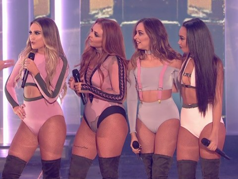 People think Little Mix's Jesy Nelson wore a 'sweat-stained' leotard on The X Factor