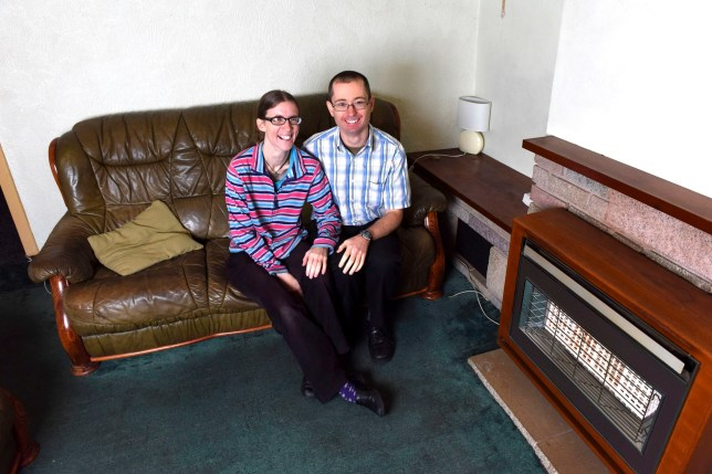 PIC BY Mikey Jones/Caters News - (PICTURED: Steph and Matthew Neville. ) - A devout Christian couple have splurged their life savings on a house for ASYLUM SEEKERS. Steph and Matthew Neville, from Birmingham, West Mids, splashed 114,000 on a three bedroom property to help those fleeing conflict - and will let them live there for FREE. The couple sacrificed their dream of buying a house together, instead putting 10 years worth of savings towards a deposit. The Christians will continue to live in a religious commune while they pay off the mortgage, having shelved their hopes of buying somewhere for the two of them. But they insist its not to show theyre better than anyone else but to help those seeking asylum build a life for themselves. SEE CATERS COPY.