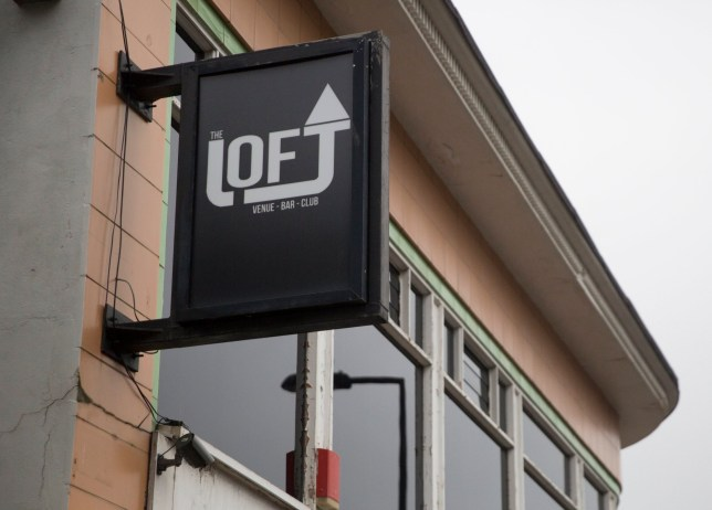 """The Loft nightclub in Weston-super-Mare, Somerset. See SWNS story SWOLIVE; A woman has been publicly shamed by a nightclub after her """"racist"""" 3am Facebook rant about being barred by an 'olive-skinned' doorman backfired. Foul-mouthed Deborah Smith, 44, penned her abusive tirade after being refused entry to The Loft for being drunk. But instead of apologising the club, in Weston-super-Mare, Somerset, declared she was permanently barred with a caustic takedown. They described her as 'a dim racist' and shamed her further by asking if she would only be satisfied if they used a 'colour chart' when interviewing door staff. Their waspish response was shared hundreds of times on social media before being taken down. In her original post, penned at 3.30am on Saturday, Smith questioned the bouncer's motives for turning her away. In a message littered with swear words and spelling errors, she raged: """"""""Why???? Because some foreign t**t says I was too p***ed to enter."""""""