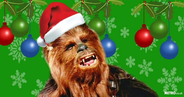 Chewbacca singing Silent Night is the ONLY song you need this Christmas