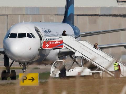 Plane hijacking interrupts film crew shooting fake plane hijacking