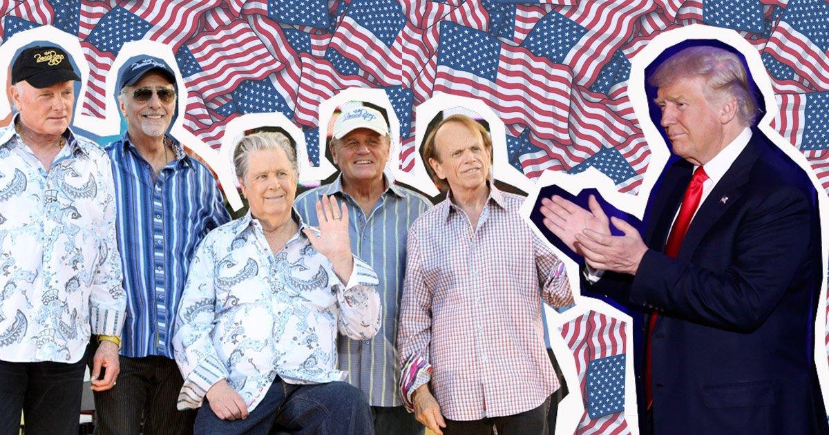 The Beach Boys look set to play Trump's inauguration