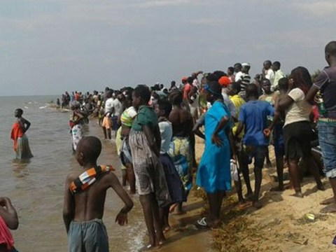 Football team and fans feared drowned after boat capsizes in Uganda