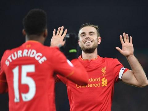Liverpool 4-1 Stoke player ratings: Jordan Henderson shines as Reds thump Mark Hughes' men
